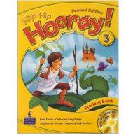 کتاب زبان انگلیسی Hip hip hooray 3